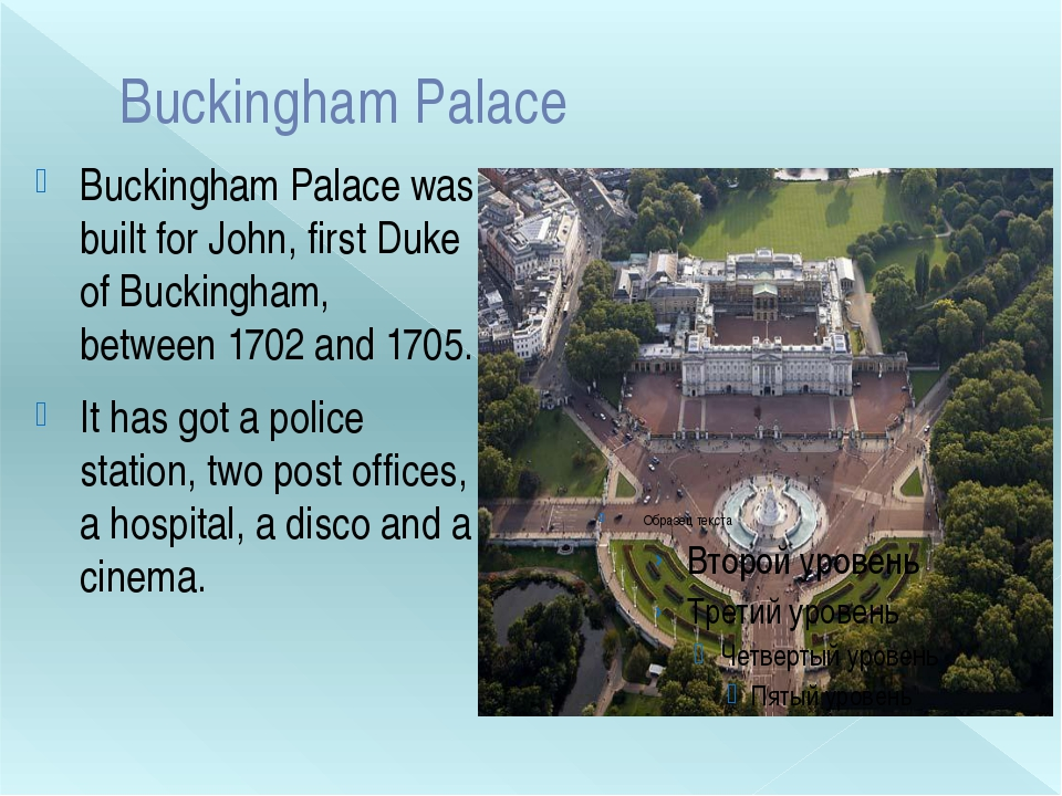 Buckingham Palace Buckingham Palace was built for John, first Duke of Bucking...