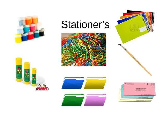 Stationer's