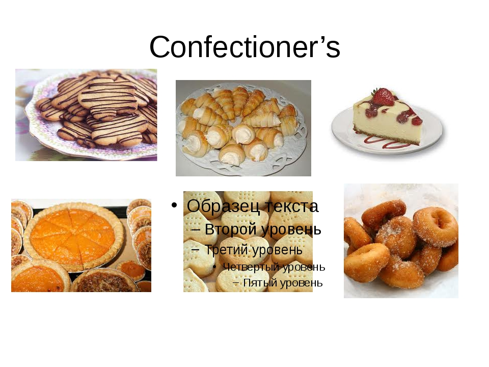 Confectioner's