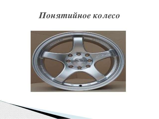 Понятийное колесо