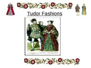 Tudor Fashions