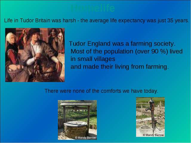 Life in Tudor Britain was harsh - the average life expectancy was just 35 yea...