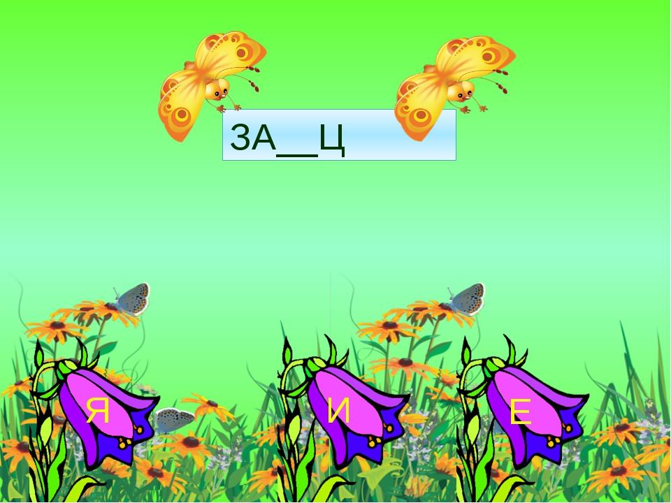 ЗА__Ц Я И Е
