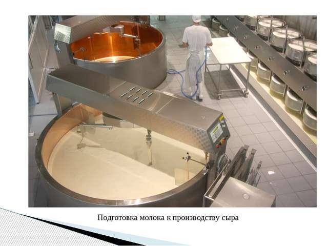 Подготовка молока к производству сыра