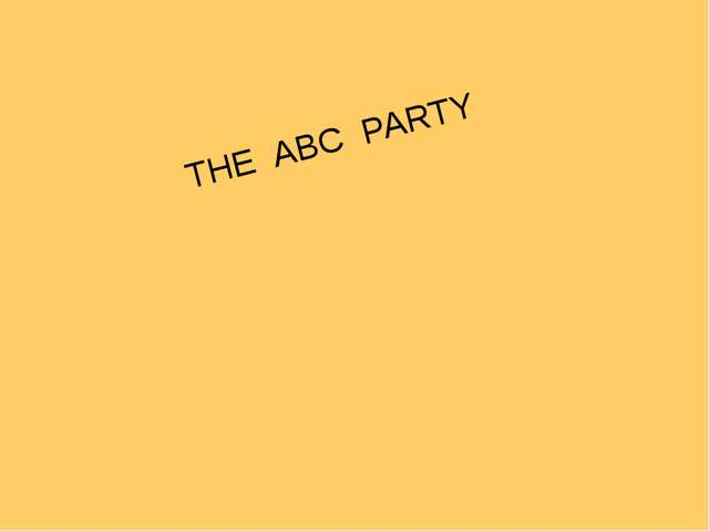 THE ABC PARTY http://urazimbetov.jimdo.com/