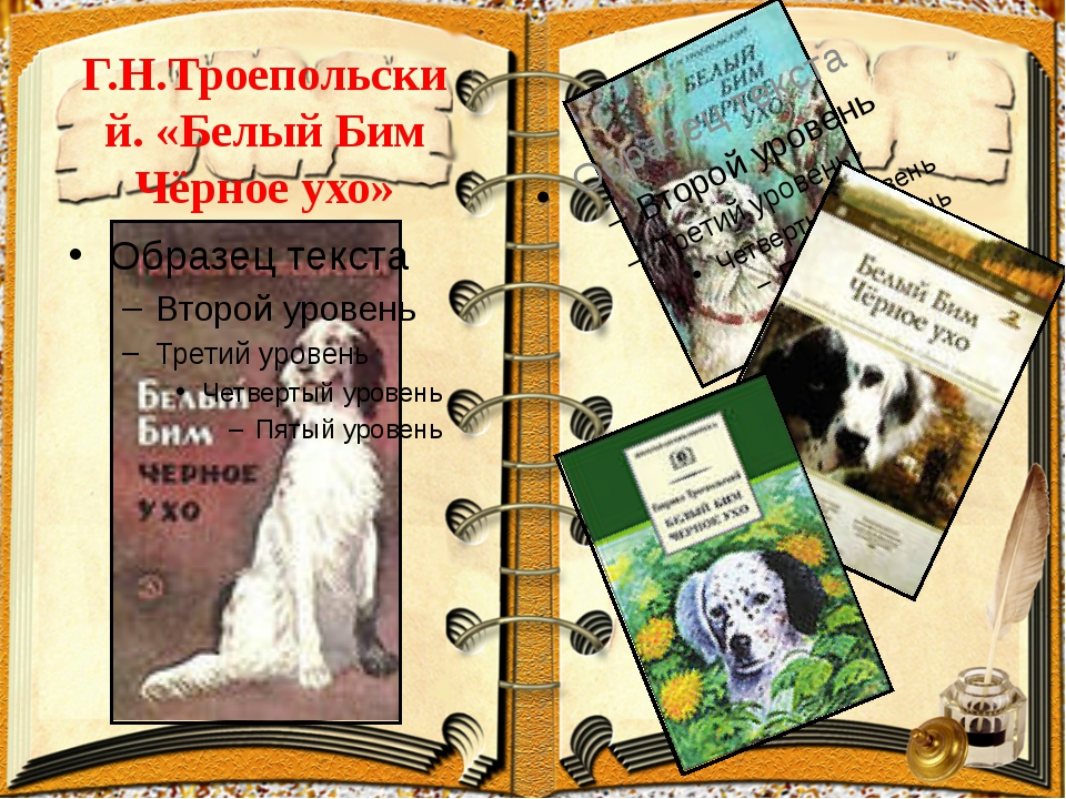 Г.Н.Троепольский. «Белый Бим Чёрное ухо»
