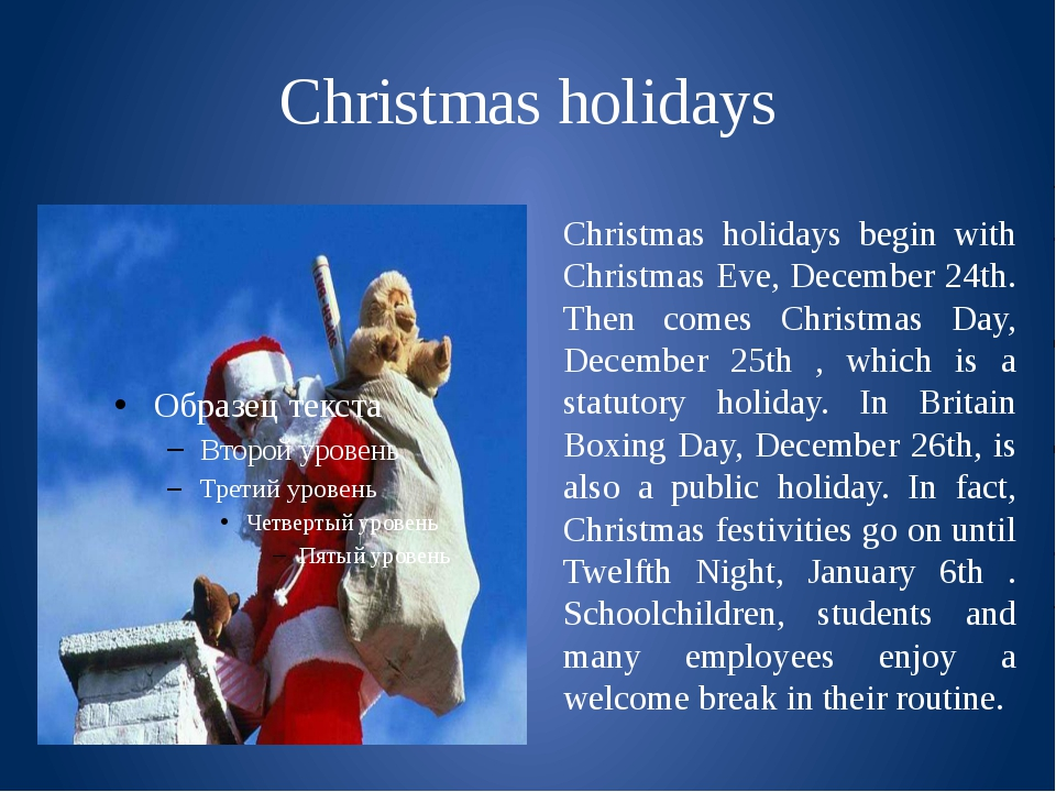 Christmas and holiday season  Wikipedia