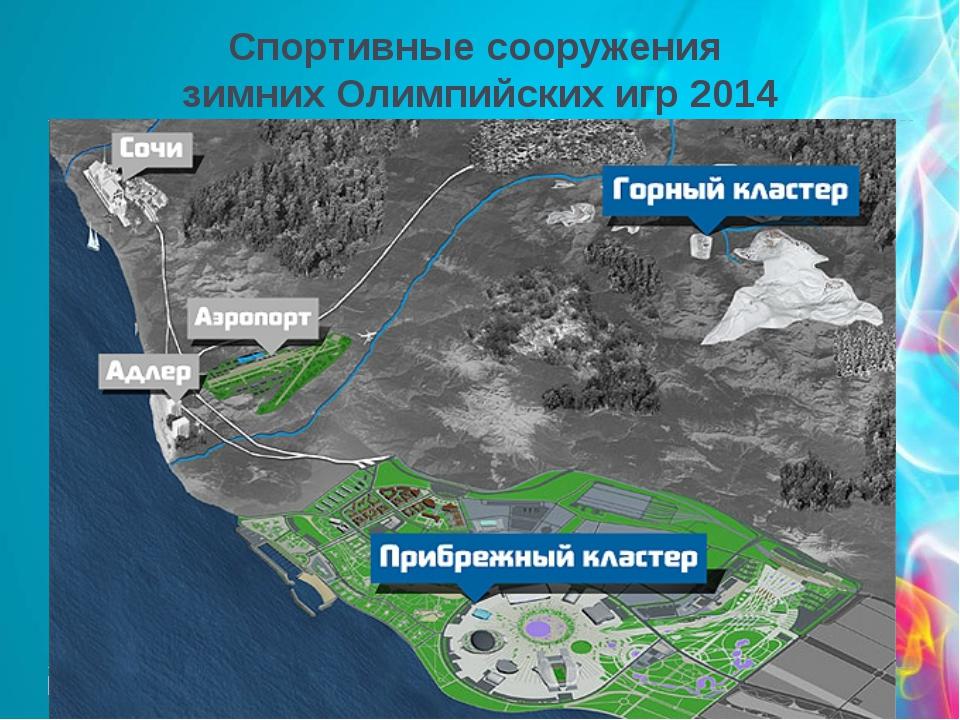 Спортивные сооружения зимних Олимпийских игр 2014