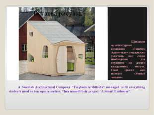 "A Swedish Architectural Company ""Tengbom Architects"" managed to fit everythi"