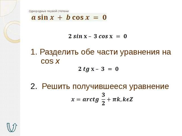 Методы решения тригонометрических уравнений Разложение на множители Введение...