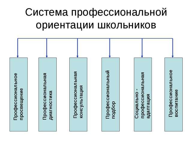 Система профессиональной ориентации школьников