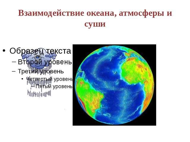 Взаимодействие океана, атмосферы и суши