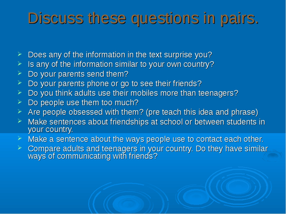 Discuss these questions in pairs. Does any of the information in the text sur...