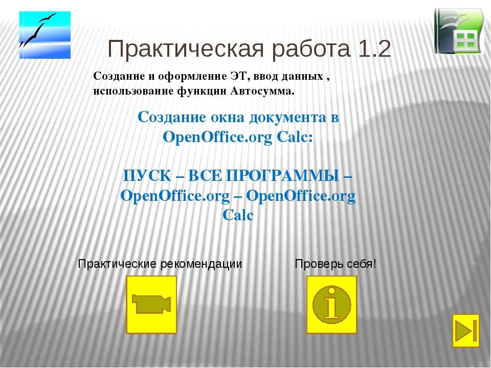 Электронные Таблицы в ГИА Дан фрагмент электронной таблицы: После выполнения...