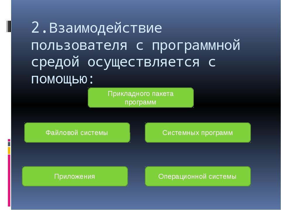 4.Основное преимущество командного режима управления системой состоит в: Нагл...