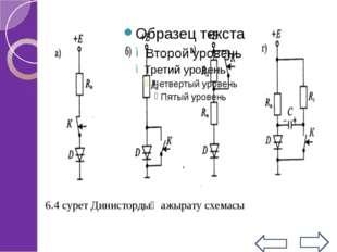 Қосылғаннан кейін басқару электроды басқару қызметінен айрылады,сондықтан тир