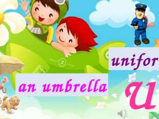 Uu an umbrella uniforms