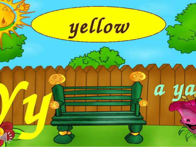 Yy a yard yellow