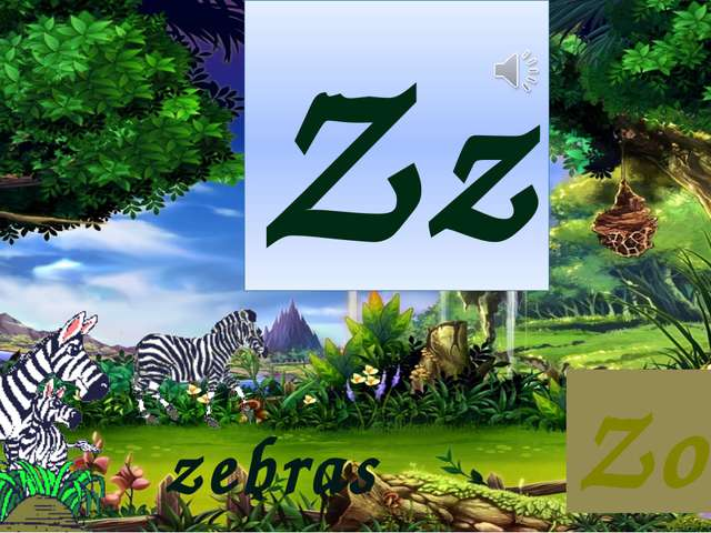 Zz Zoo zebras