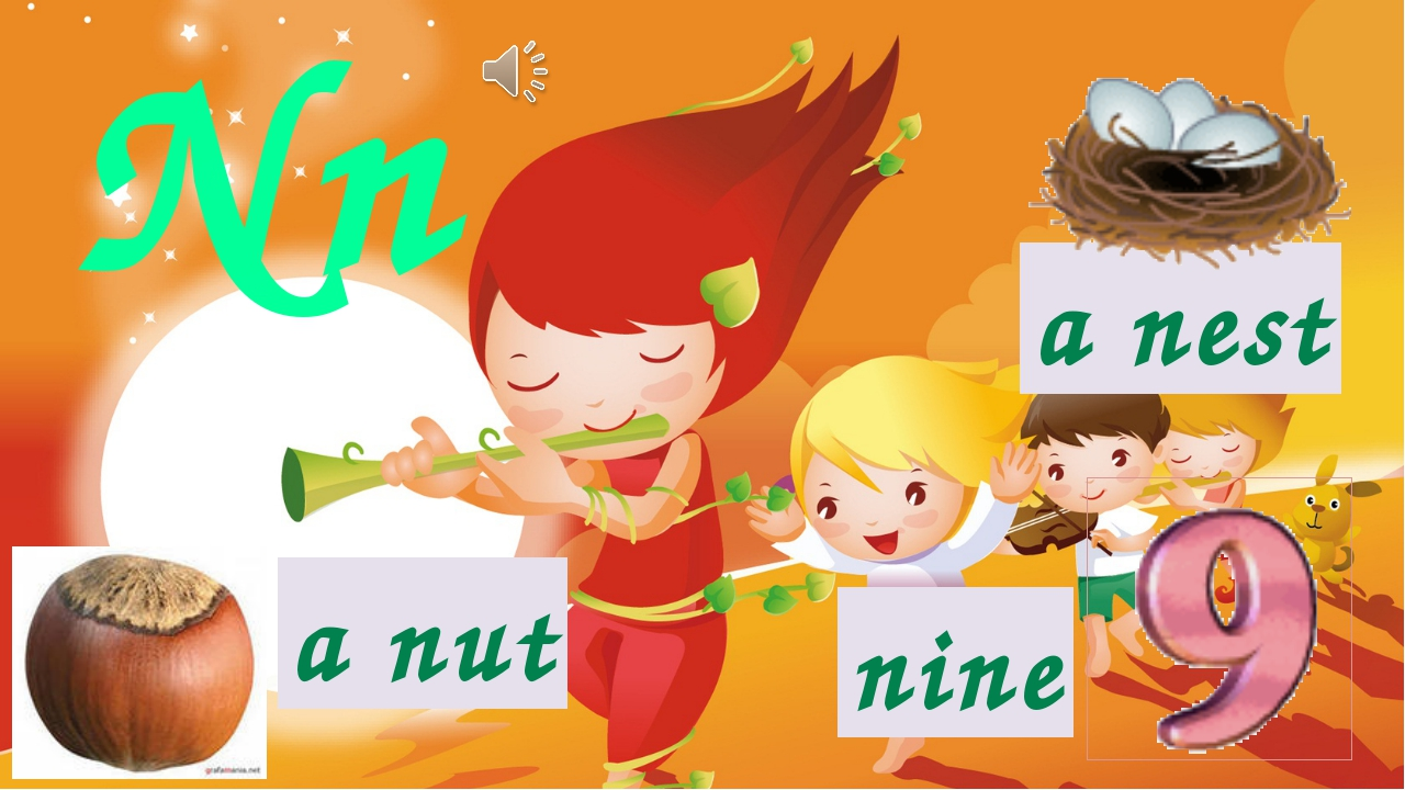 Nn a nut a nest nine