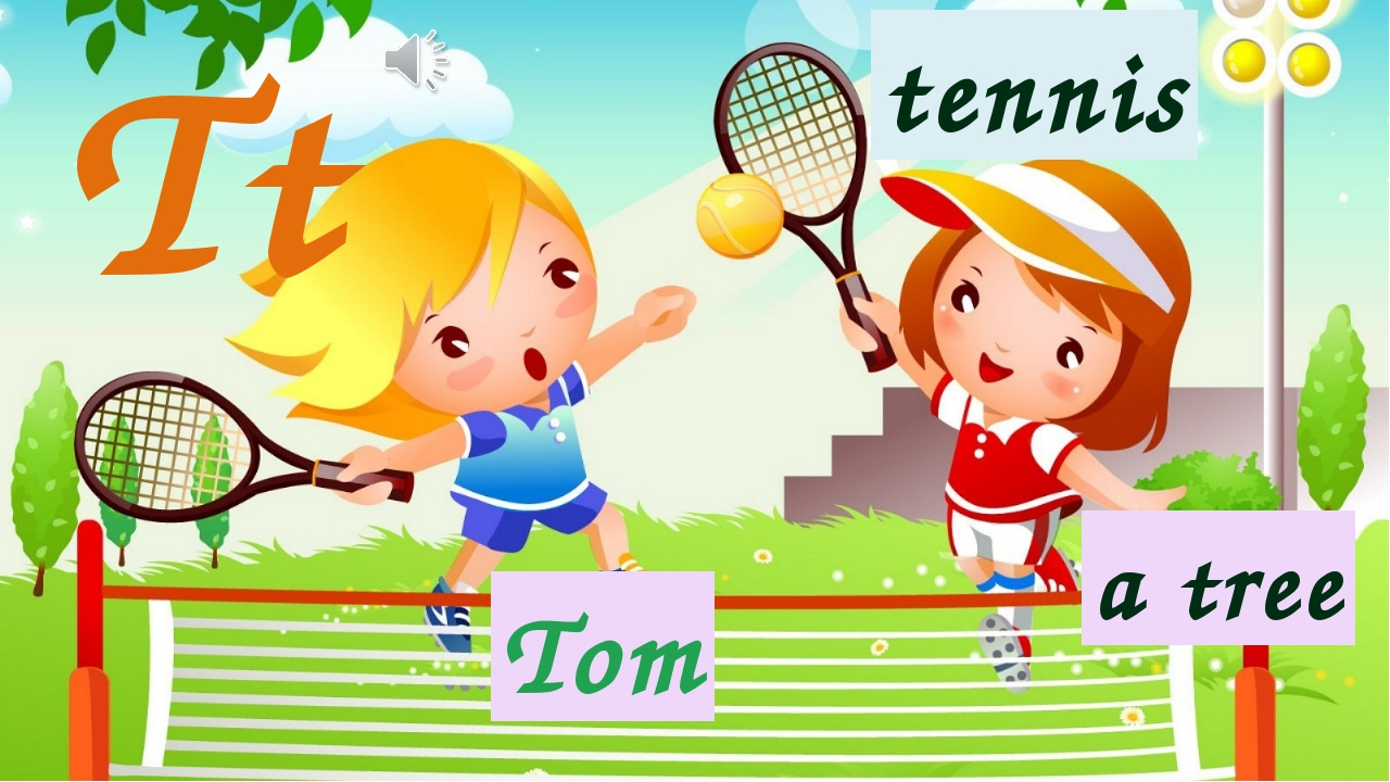Tt tennis a tree Tom