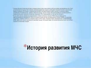 История развития МЧС Накануне Великой Отечественной войны пожарная охрана стр
