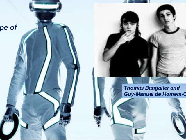 Thomas Bangalter and Guy-Manuel de Homem-Christo