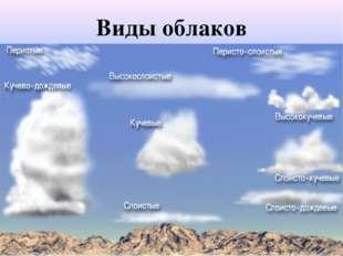 Виды облаков