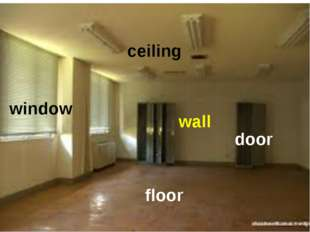 door wall floor window ceiling