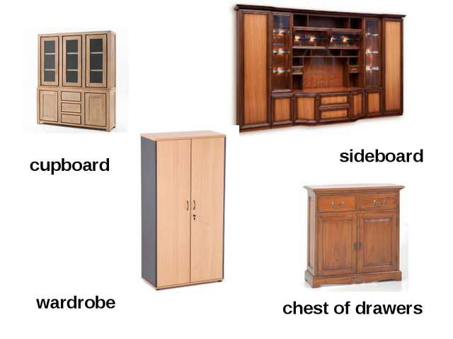 cupboard wardrobe sideboard chest of drawers
