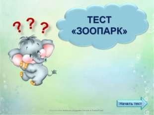 Использован шаблон создания тестов в PowerPoint