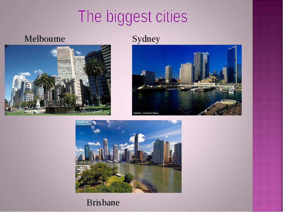 Melbourne Sydney Brisbane