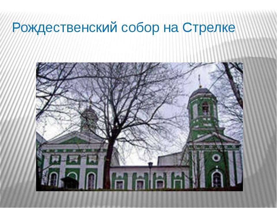 Рождественский собор на Стрелке