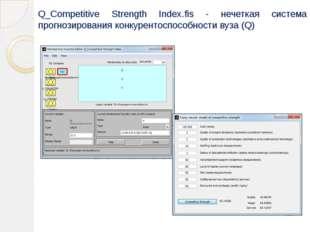 Q_Competitive Strength Index.fis - нечеткая система прогнозирования конкурент