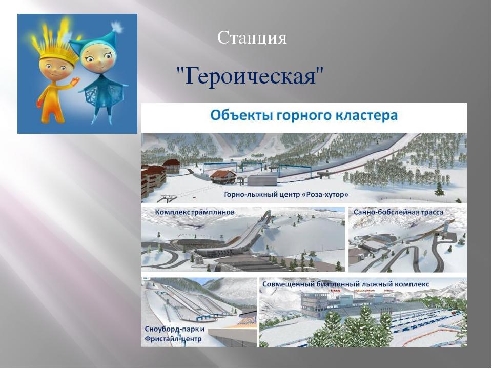 """Станция """"Героическая"""""""