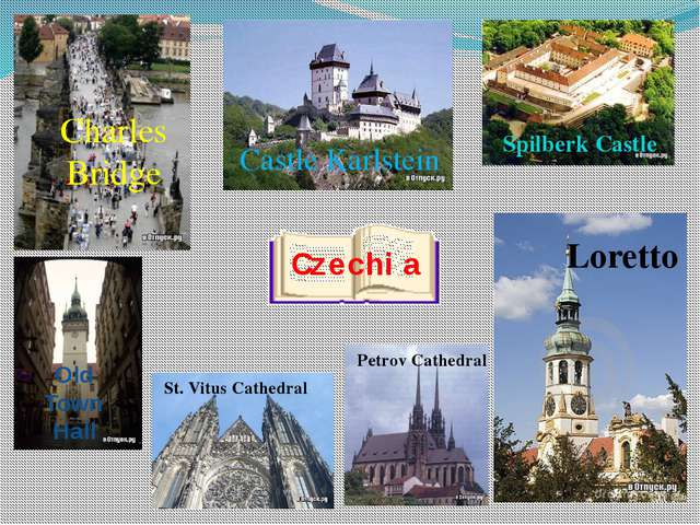 Czechia St. Vitus Cathedral Loretto Old Town Hall Charles Bridge Castle Karls...
