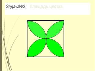 Задача№3 Площадь цветка