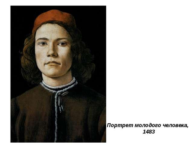 Портрет молодого человека, 1483
