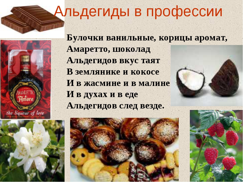 Булочки ванильные, корицы аромат, Амаретто, шоколад Альдегидов вкус таят В зе...
