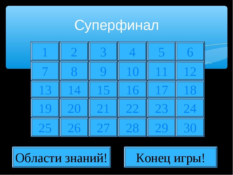 Суперфинал 1 2 7 8 13 19 25 14 20 26 3 4 5 9 10 11 15 16 17 21 22 23 27 28 29...