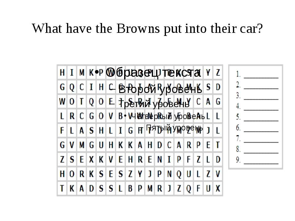 What have the Browns put into their car?