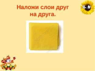 Наложи слои друг надруга. Лукяненко Элеонора Анатольевна, учитель начальных