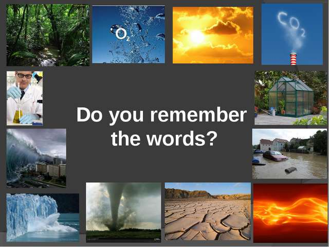 Do you remember the words?
