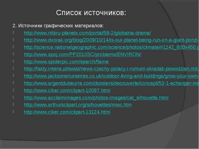 Список источников: 2. Источники графических материалов: http://www.nibiru-pla...