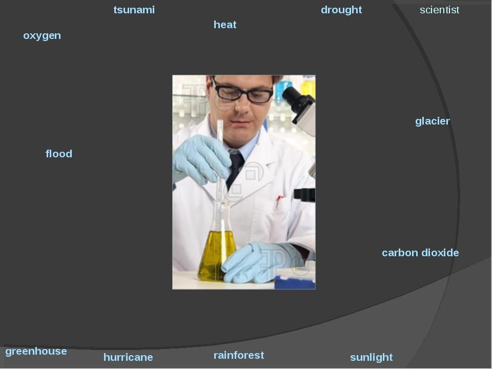 oxygen tsunami heat drought scientist hurricane greenhouse carbon dioxide flo...