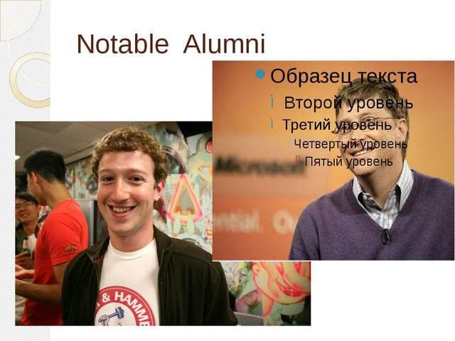 Notable Alumni