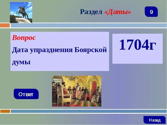 Вопрос Государственный орган управления Русской православной церкви? Ответ Ра...