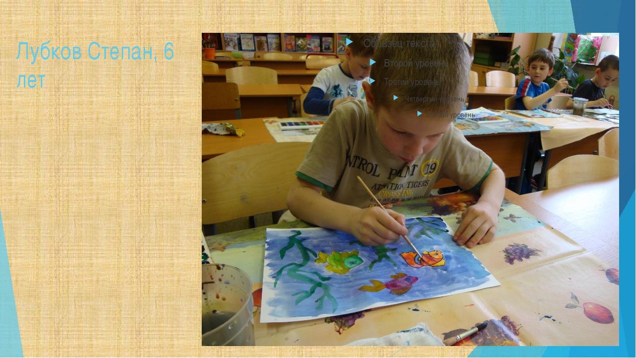 Лубков Степан, 6 лет