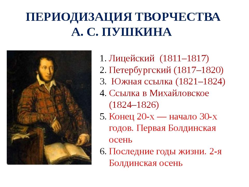 Знакомства 1817-1820 пушкина новые