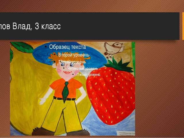 Козлов Влад, 3 класс